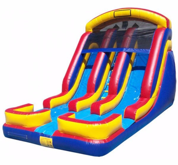 Extreme Inflatable Water Slide For Sale: Adult Size Giant Inflatable Water Slide With Double Lanes