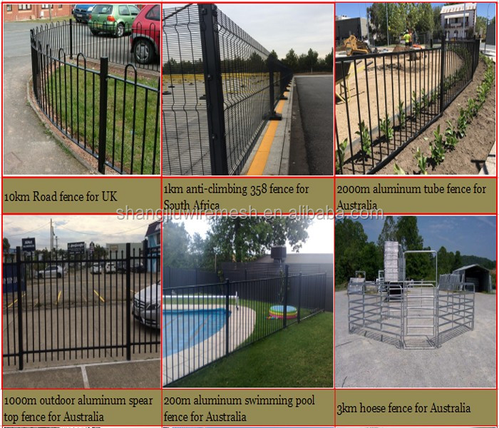 privacy garden aluminum no dig fence panels no dig fence