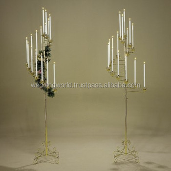 Candle Holder Wedding Decor Decoration Floor Standing Holders