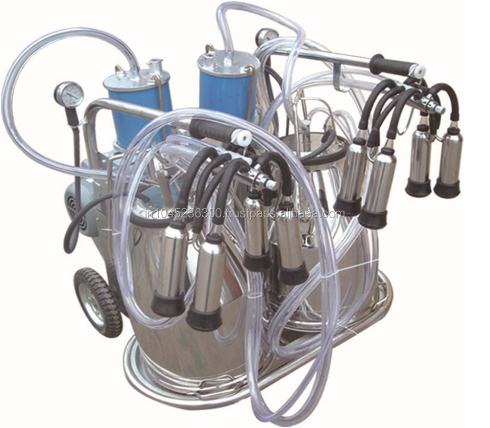 Mini Cattles Milking Machine With Double Buckets(Y-002)