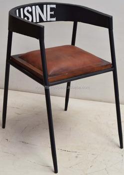 Vintage Loft Industriel Chaise