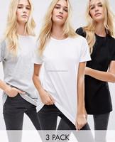 OEM factory cheap comfortable cotton printing short women t-shirt/fashion high quality t shirt