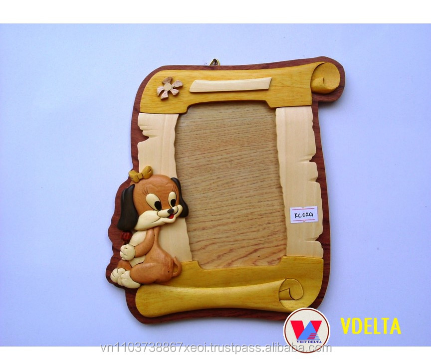 WOODEN PICTURE/PHOTO FRAME - Unique Design - Home Decoration - Best Price