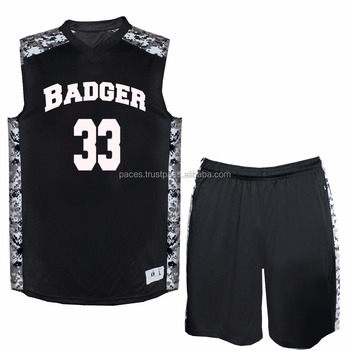 7fd8a8eb3 Custom Latest Cheap Sublimation Print Black Basketball Jersey Design ...
