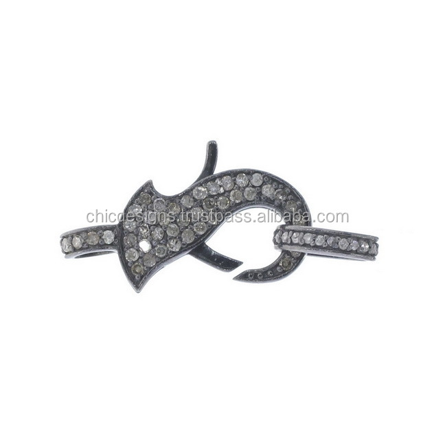 Wholesale Jewelry 925 Sterling Silver Lobstar Spring Clasp Lock Findings