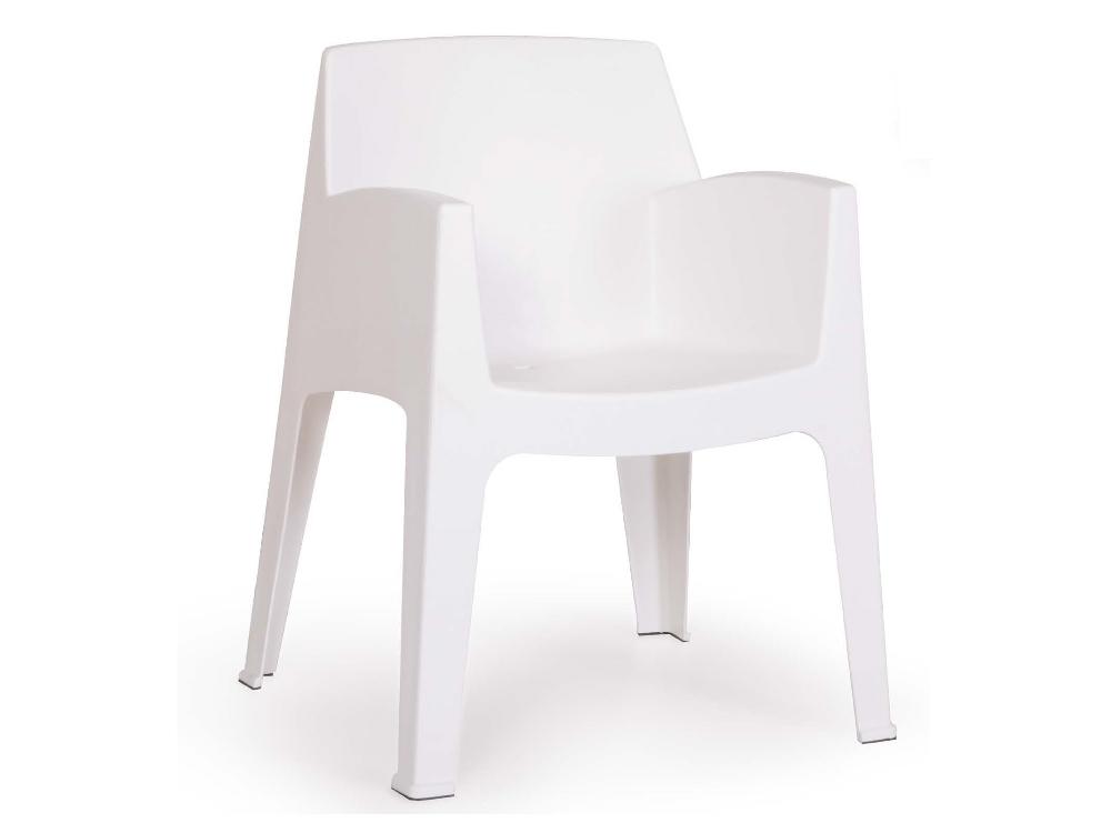 Italiaans design sterke kunststof tuin stoel geschikt voor binnen