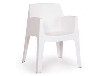 Italian Design Strong Plastic Garden Chair Suitable For Indoor ...
