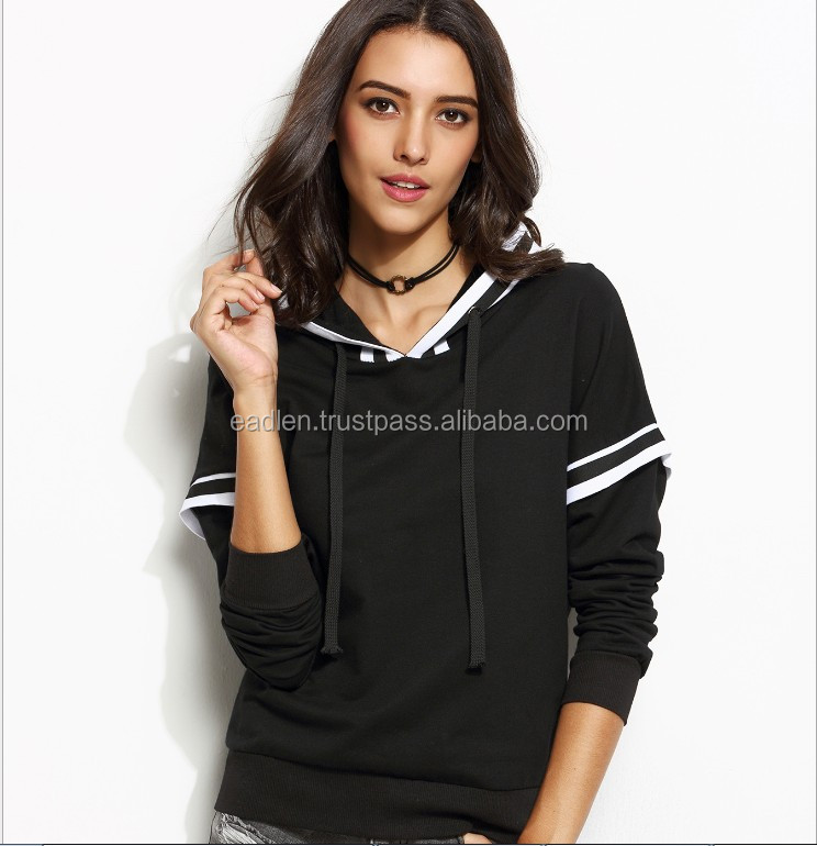 2017 Hoodies Manufacturers New Fashionable Fitness OEM Design Gym Hoodie women /men
