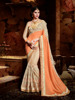 Indian Wedding Half Georgette and Imported Fabric Saree
