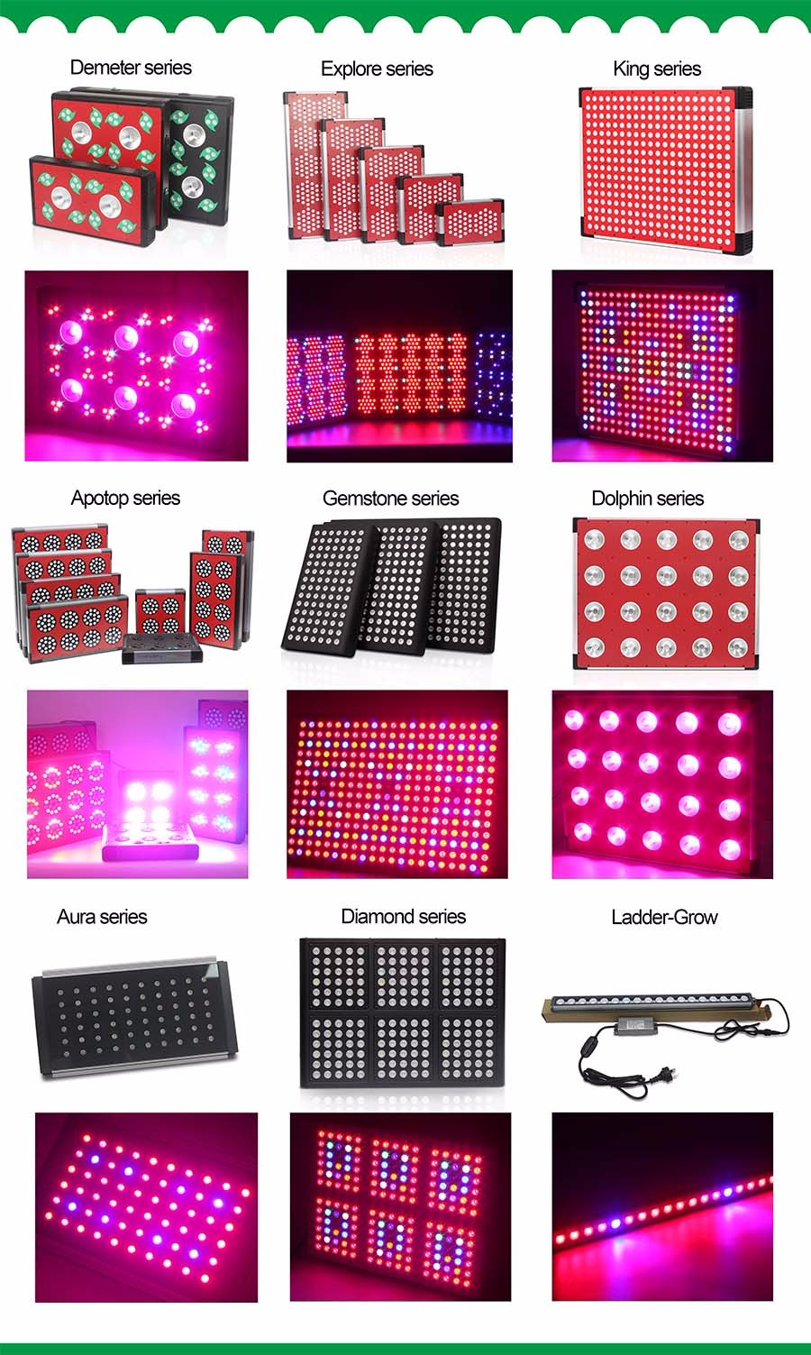 45w panel lights for indoor potted plants and small flower full spectrum lights