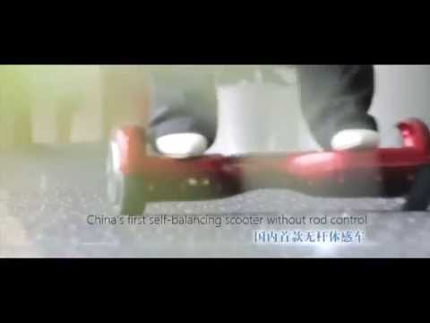 Two wheels self balancing electric scooter / bike