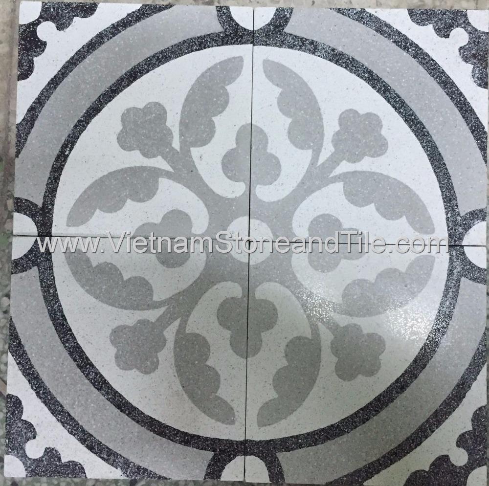 Vietnam Cement Tiles In Terrazzo Finish Non Slip Floor Tiles Buy Encaustic Cement Tiles Used Press Terrazzo Tiles Handmade Cement Tile Product On