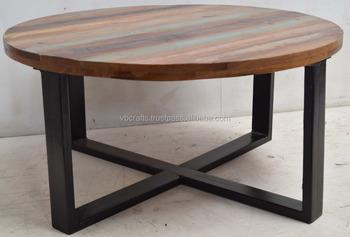 Recupere Bois Rond En Fer Forge Jambe Table Basse Indienne Buy Tables Basses En Metal Indien Coiffeuse Indienne Tables Basses En Bois Product