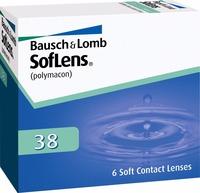 Soflens 38 6pk Bausch&Lomb