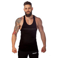 Training Bodybuilding Tank Top Gym Stringer Workout Fitness Vests