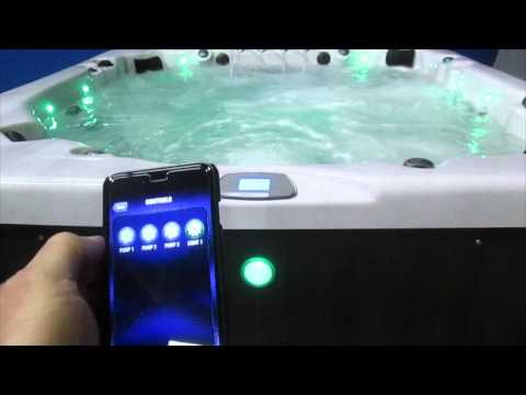 Mercury Grand Marquis Spa Party Hot Tub 80 Jets 3 Pumps The Spa Guy Nashville