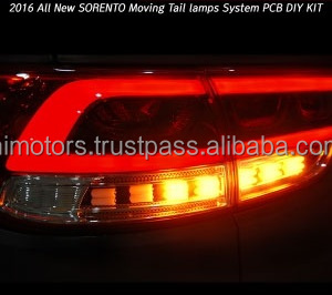 LED Tail Light Lamp Modules Moving Type LH, RH For KIA Sorento 2015~
