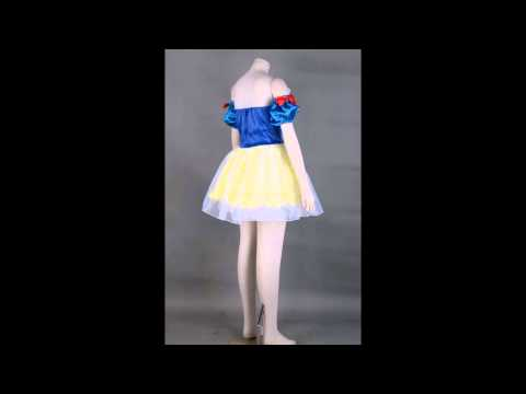 Snow White Costume from Snow White and the Seven Dwarfs Cosplay