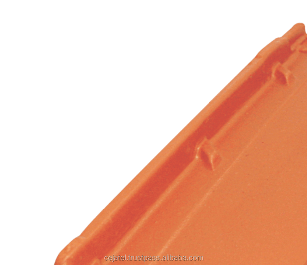 PORTUGUESE CLAY ROOF TILE RED NATURAL M12