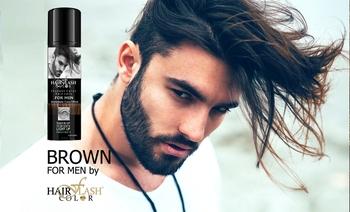 Hair Flash Color Men Brown Natural Care Temporary