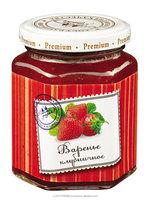 Strawberry jelly jam LESNYE UGODYA fruit jam [glass jar 230 g]