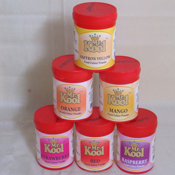 Saffron Yellow Food Colour Powder - Buy Organic Food Coloring ...