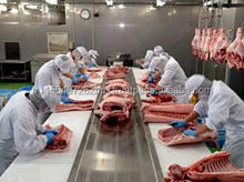 ppork spare ribs, interleaved in 10kg at best prices for China and other markets