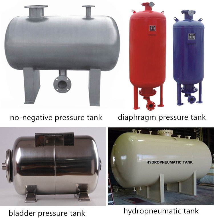 Best price Fire fighting system with large capacity Pressure water tank