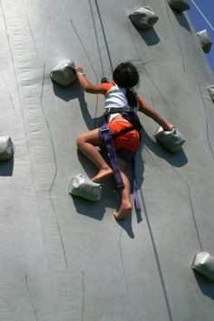 Rock Climbing Wall Inflatable Mountain
