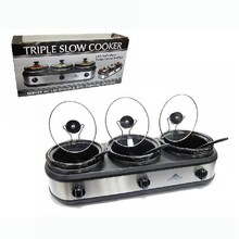 Triple Slowcooker # HW949