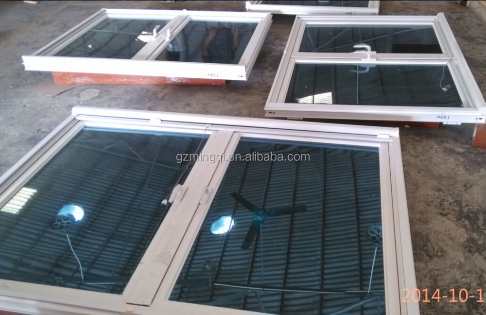 Modern house aluminum window grill design