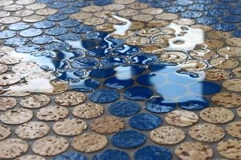 Berühmt Duschwanne Kork Mosaik-fliesen,Walk-in-dusche,Rutschfest,Versacork UA49