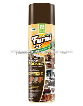 Aerosol Spray Furniture Polish Carnauba Beeswax Primo Furni Wax