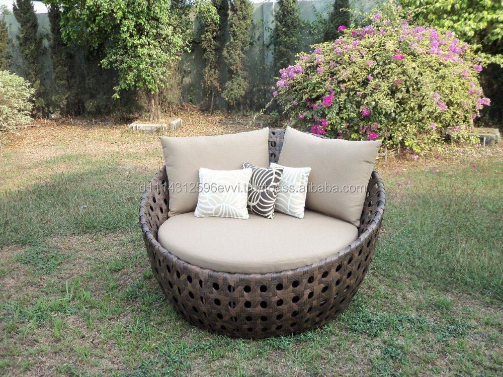Rattan Daybed Suppliers : For sale indonesian daybed frame