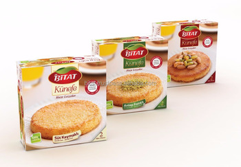 Bitat Turkish Kunafa With Milk Cream 2 Pieces *150gr With Syrup ...