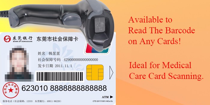 Vehicle Registration Cards Reader Handheld Barcode Scanner Easy To Use -  Buy Vehicle Registration Cards Reader,Handheld Barcode Scanner,Easy To Use