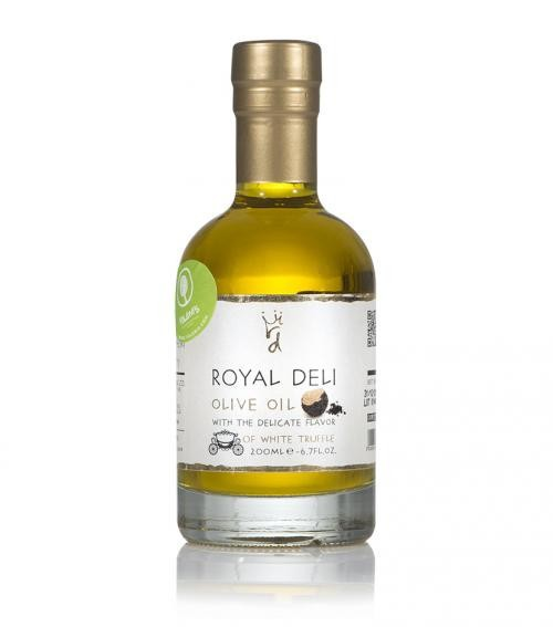 Extra virgin olive oil infused with white truffle 200mL