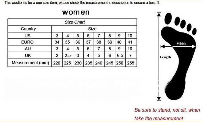 Find Your Shoe Size System