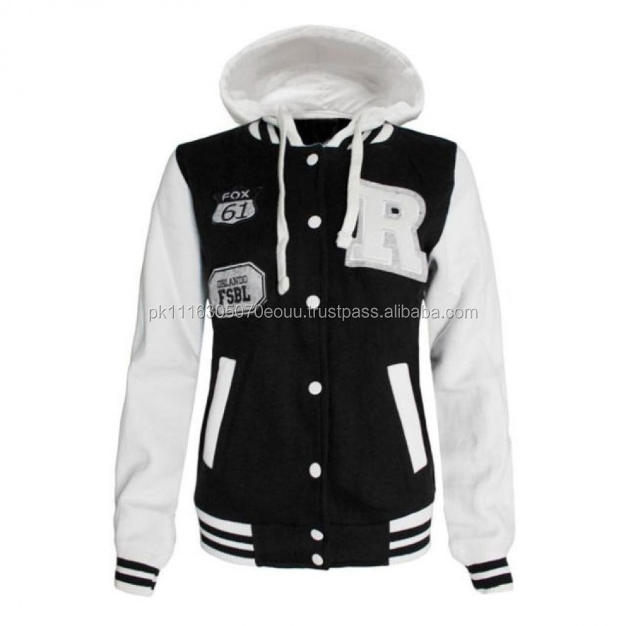 Hooded Baseball Jacket, Hooded Baseball Jacket Suppliers and ...