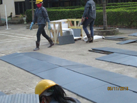 Fast delivery time customized honed grey basalt for the wall, floor