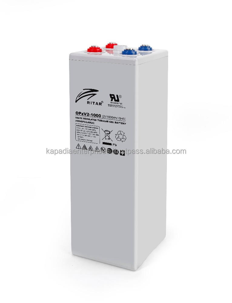 OPzV2-1000Ah Gel Lead Acid Battery