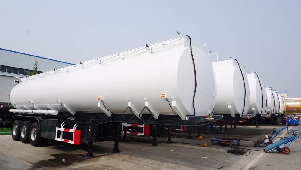 Aluminum Alloy Tanker Trailer,Aluminum Fuel Tanker Semi Trailer ...