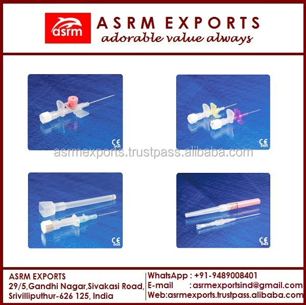 Iv Cannula/ Parts Of Iv Cannula/ Iv Cannula Sizes And Color/ Types ...