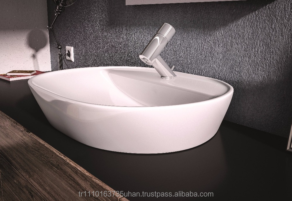 ELEGANCE SERIES / High Quality Ceramic Furniture Washbasin, Cabinet Basin, Cabinet Sink - 4360