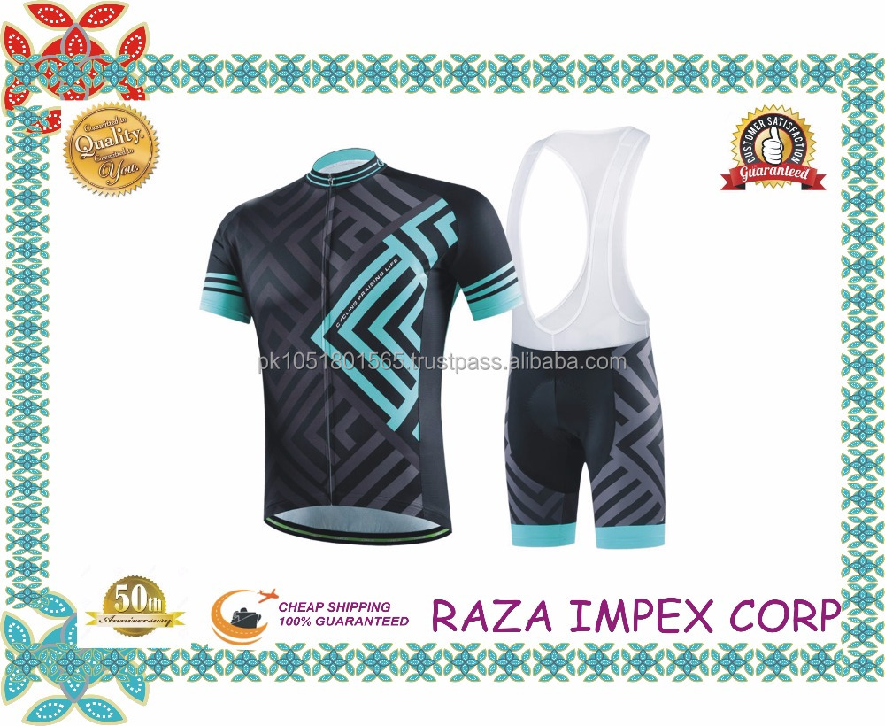 Cycling Bib shorts with silicon gel pad by Italy MITI fabric moutain biking wear cycling uniform