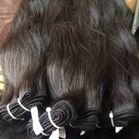 pure raw virgin Indian virgin human hair wefts tight curly hair clip in extensions