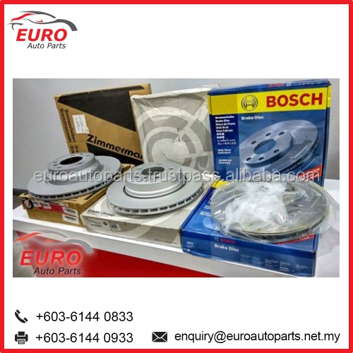 Euro Car Brake Disc Parts for Audi, BMW, Mercedes, Benz, Porsche and Volkswagen