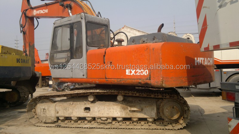 Lower Price Used Hitachi EX200 Hydraulic Excavator for sale/price can be discussed