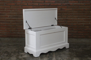 The Shabby Chic - Wooden box shabby furniture