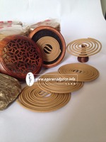 A direct manufacturer of High Quality Agarwood incense coils - Willing to get have long relationship with partners